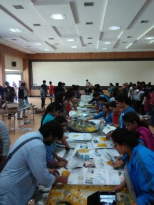 Packing and sorting of food & rations - CRR