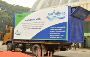Amritdhara mobile RO water plant from Bengaluru